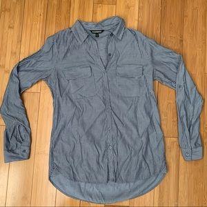 Striped Women's Dress Shirt
